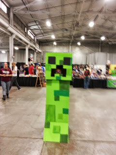 Sprout the Game and a Creeper
