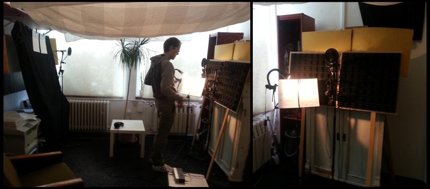 Difficult recording environment