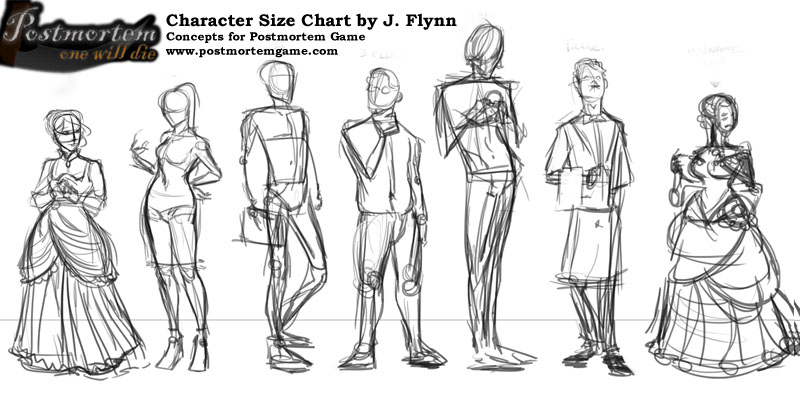 Character Size Chart by J