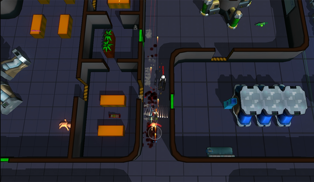 Yup. That guy in the wrong end of the dual-doublebarreledshotguns is dead.