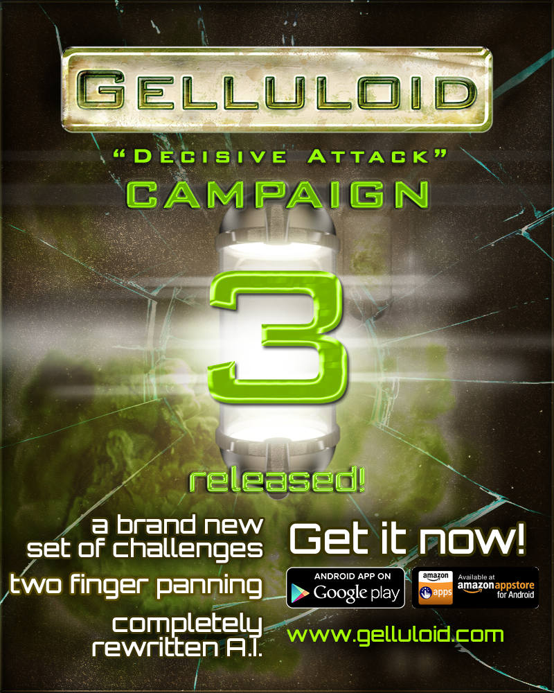 Gelluloid campaign 3 released