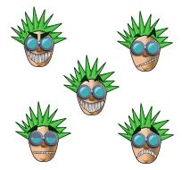 Dr. Blob icons