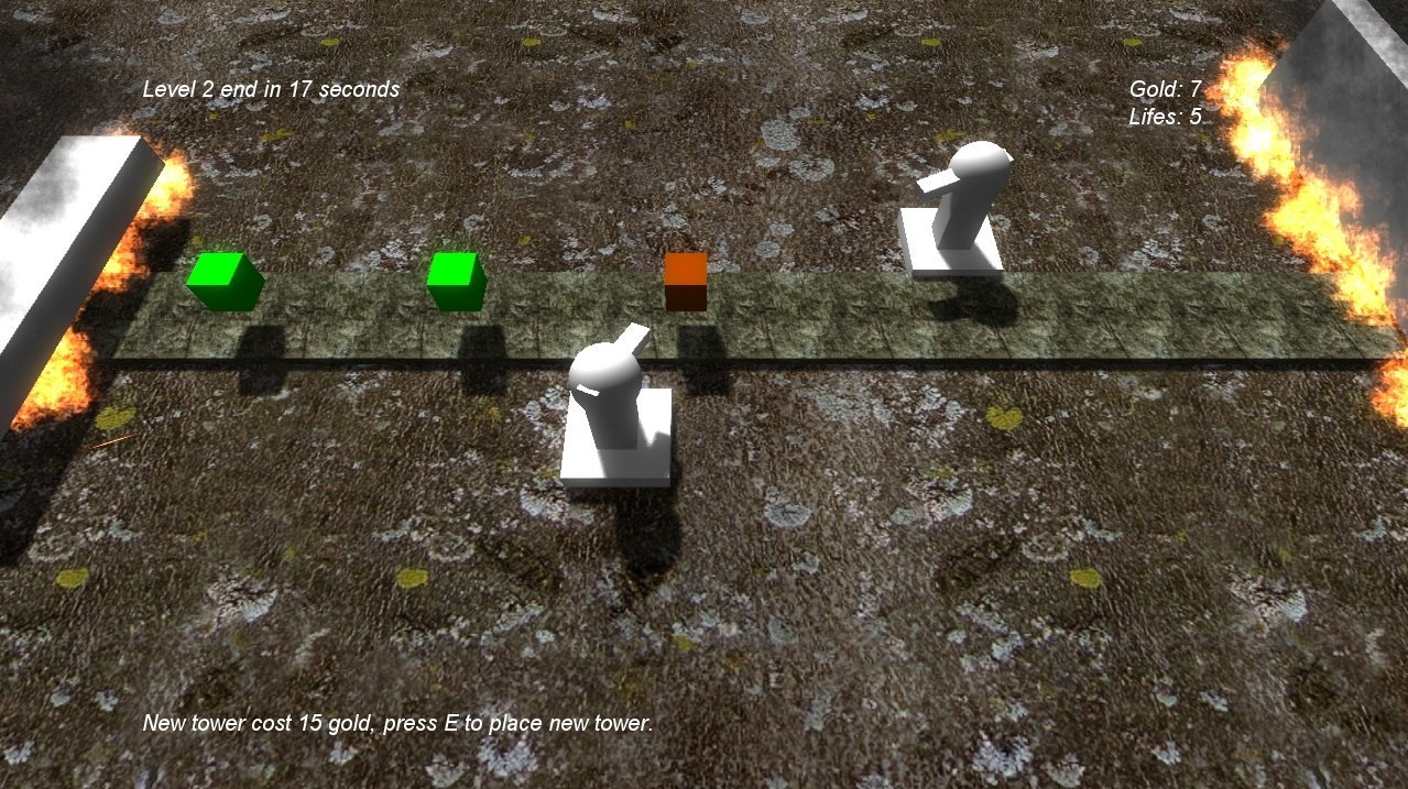 First screenshots of the earliest version of the