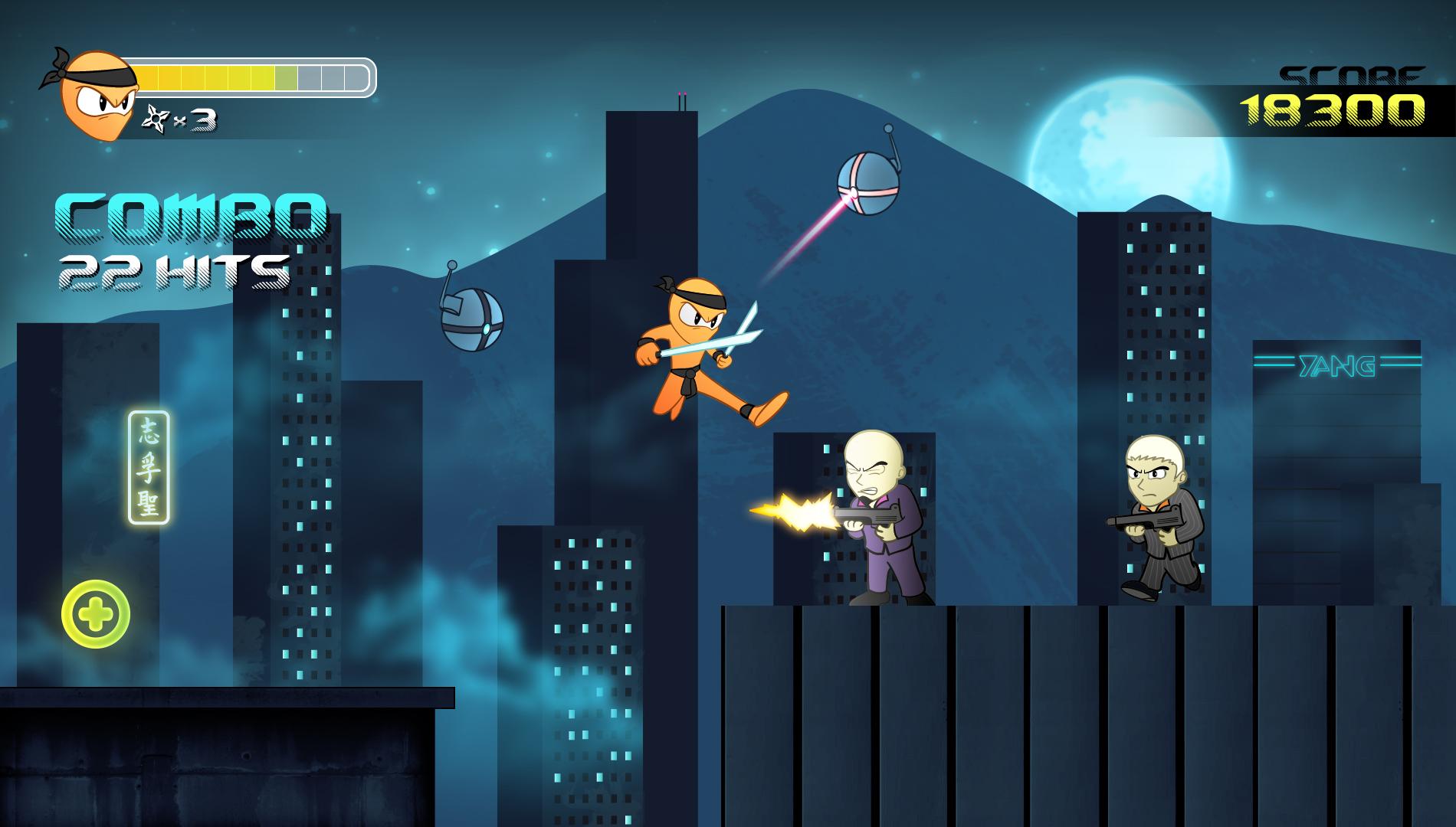 Neon Ninja - Hit Me With Your Best Shot