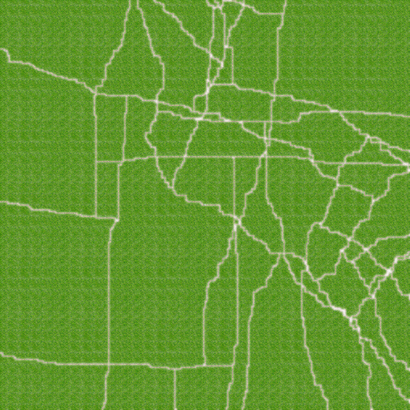 Randomly Generated Roads