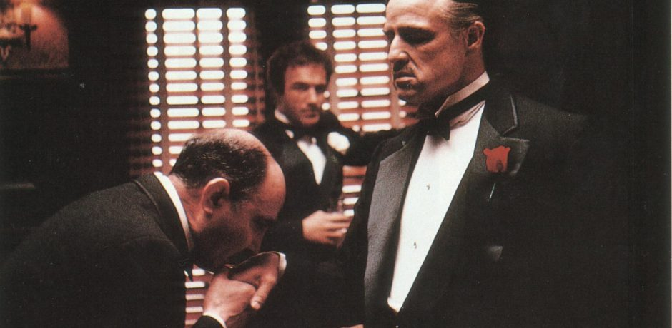Now you come to me and you say 'Don Corleone give me justice', but you don't even ask with respect. You don't offer friendship. You don't even think to call me Godfather. (c)