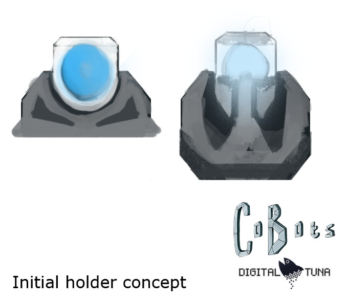 Initial concept for the holder