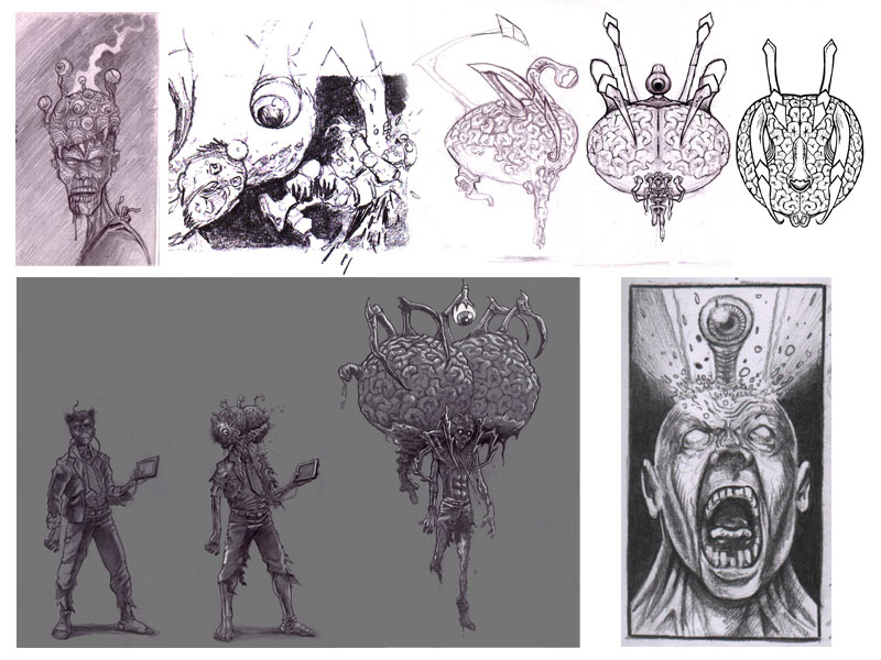 Evolution of a boss zombie, Part 3