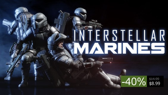 Daily Deal 40% off Interstellar Marines