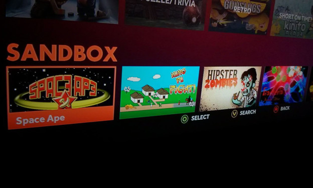 Hipster Zombies in the Ouya Store
