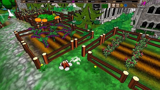 New Menu, Enclave Tile Graphic, & Crops