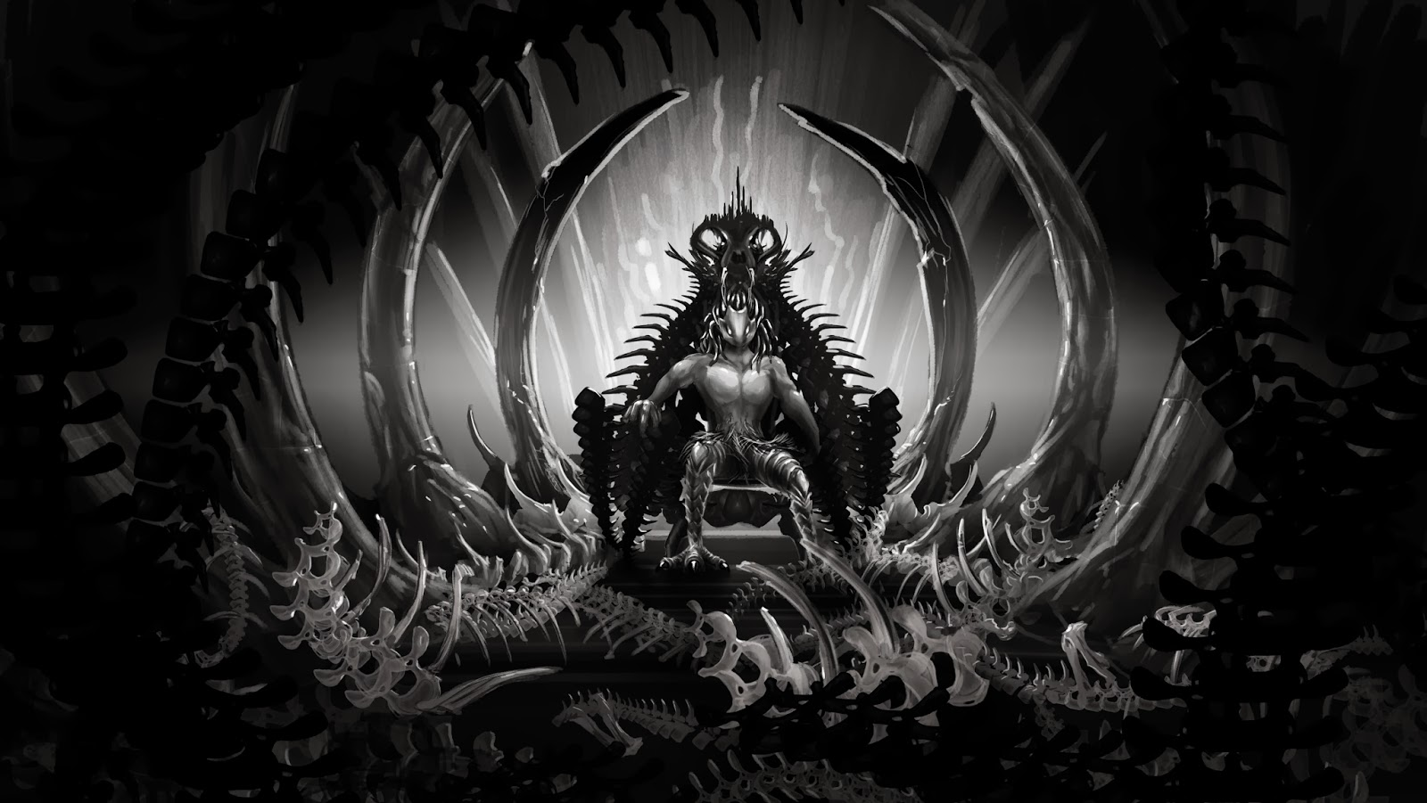 Black And White Portraits Of Four Alien Races In Tlf News