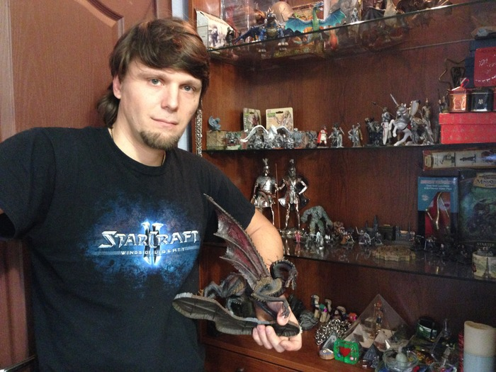 Arseniy and his AD&D collection
