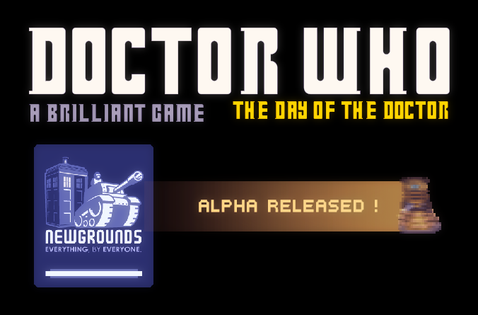 doctorwho :  a brilliant game is released