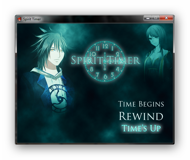 Spirit Timer New Menu