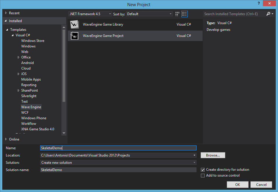 Export animation using WaveEngine 1 4 (Dolphin) tutorial - Mod DB