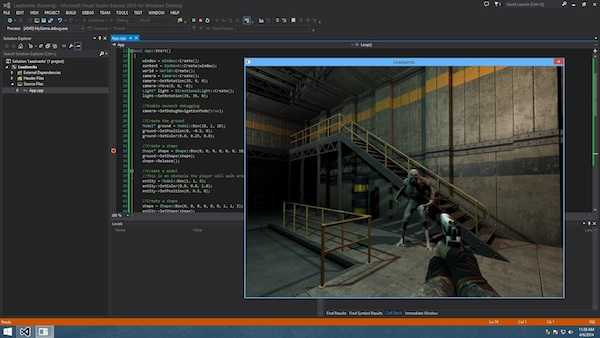 Leadwerks Standard Edition Brings C++ Game Development to Steam news