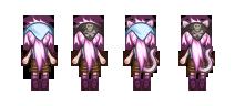 Vaniria Sprite Costume Change