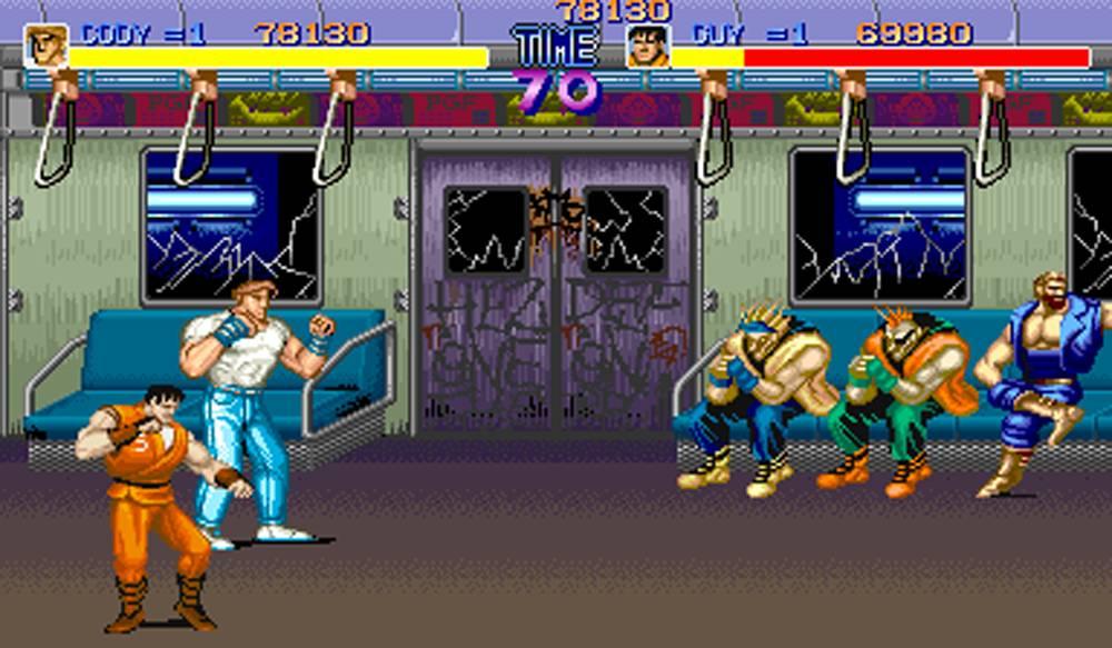 Final Fight Ref Screen
