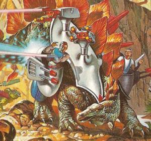 Stegosaurus after
