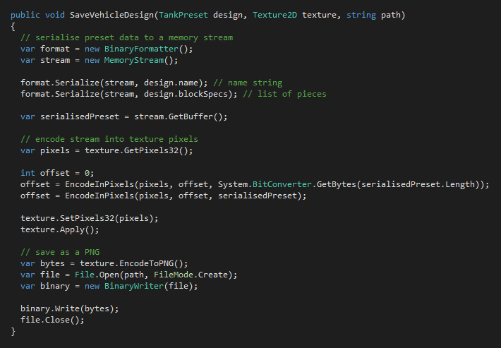 TerraTech steganography code