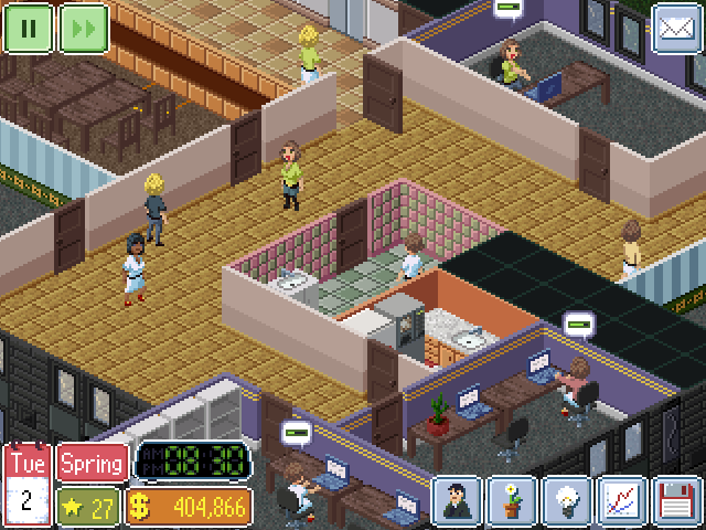Random isometric character generation feature - Office