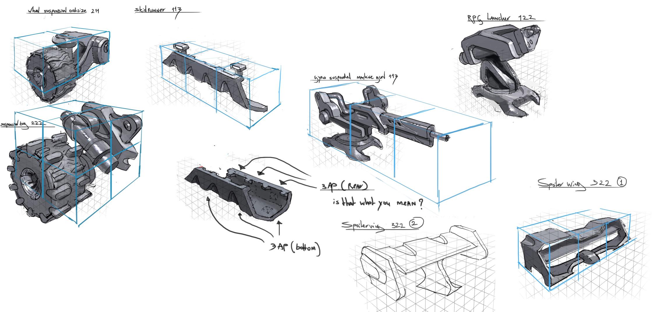 Concept art for Venture