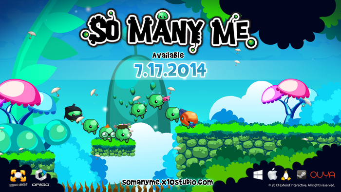 So Many Me is coming to Steam and OUYA on July, 17th!