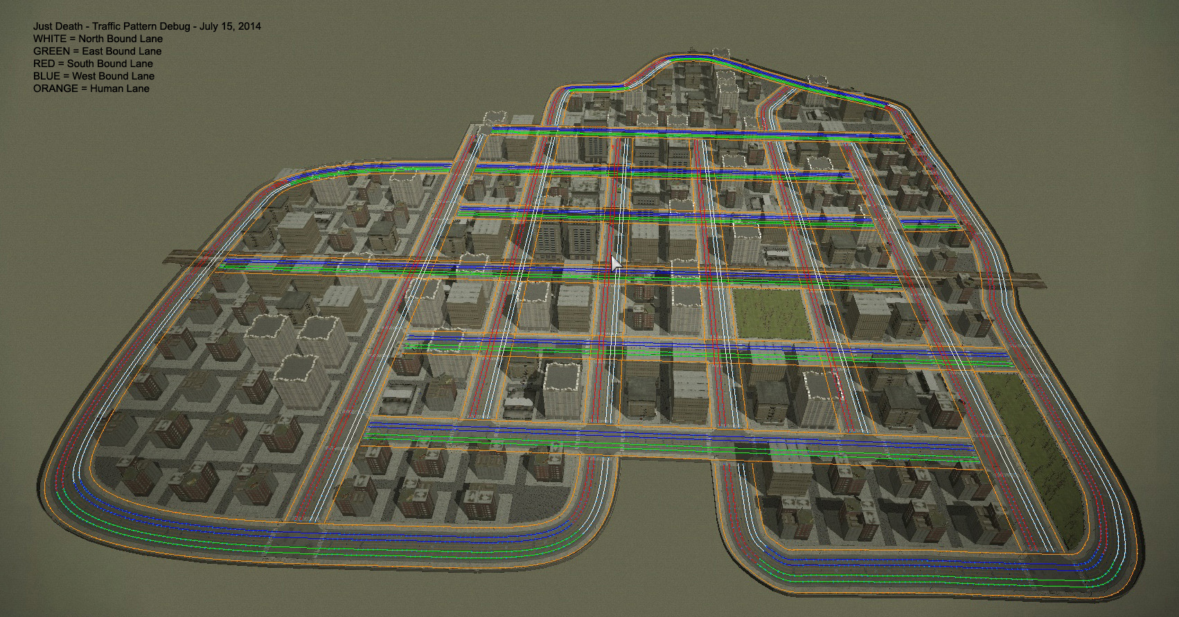 Generating Traffic Patterns In A Procedural City news - Just Death