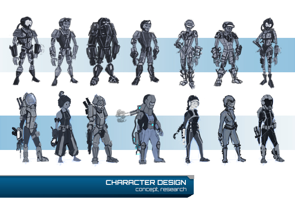 Concept character in-game - 17/07/14