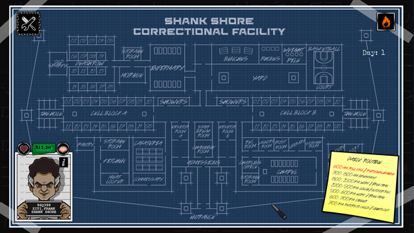 Shank Shore Map