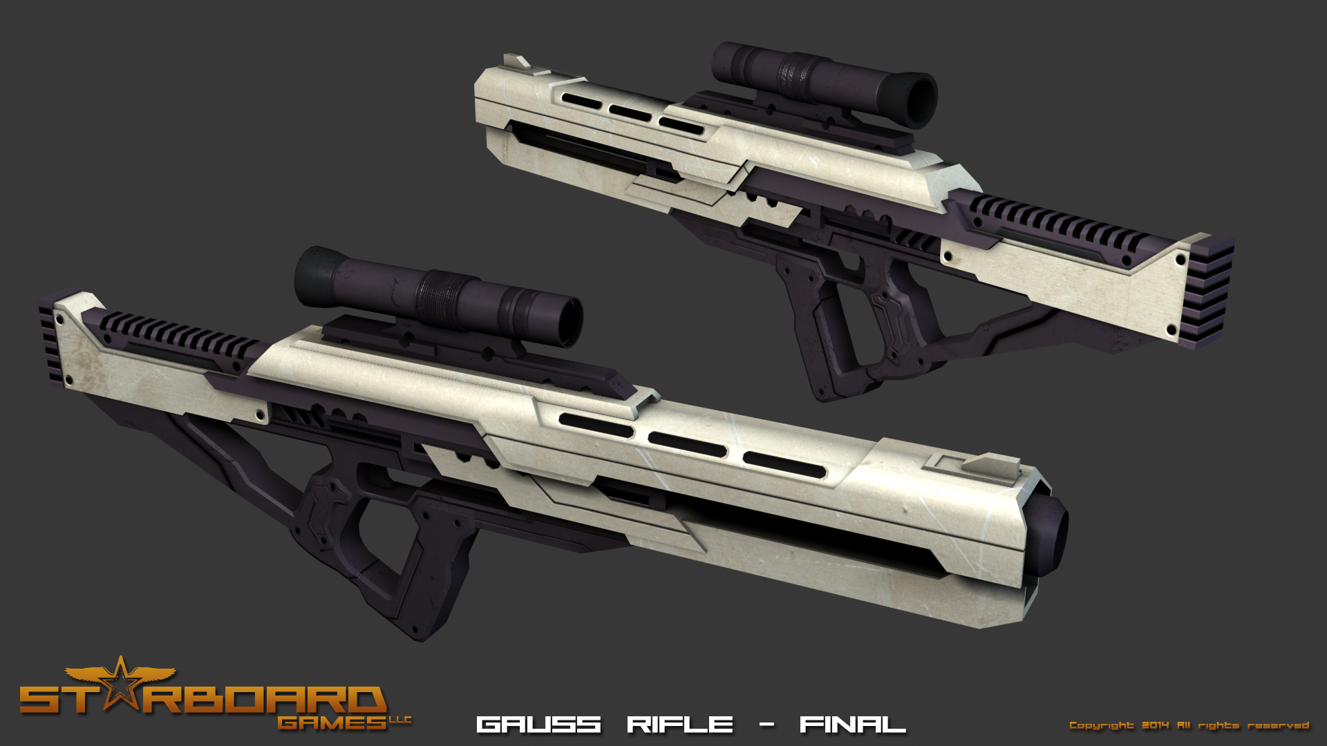 ARS Gauss Rifle