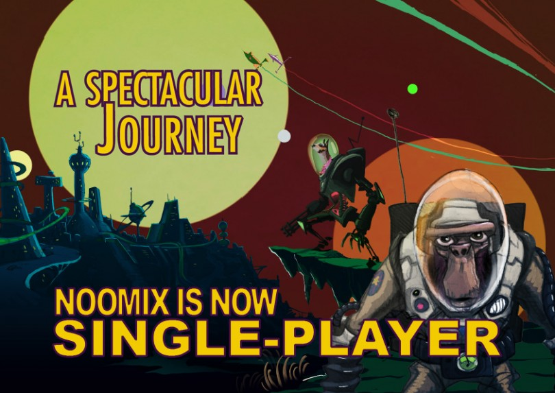 Noomix is now Single-Player!