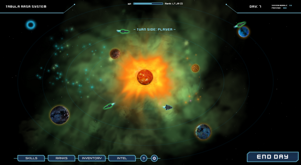 Centauri Sector - Alpha 1 Campaign Map
