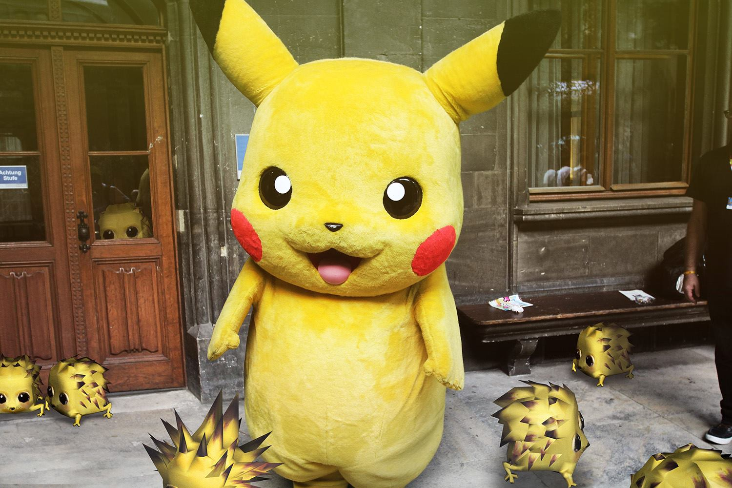 The Yellow Noomies could be Pikachu's kids.