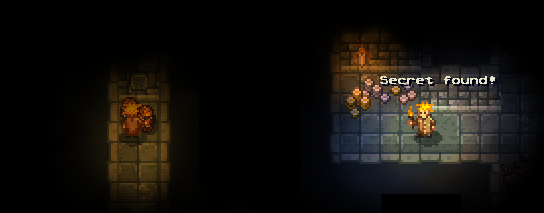 Secret Areas in Courier of the Crypts