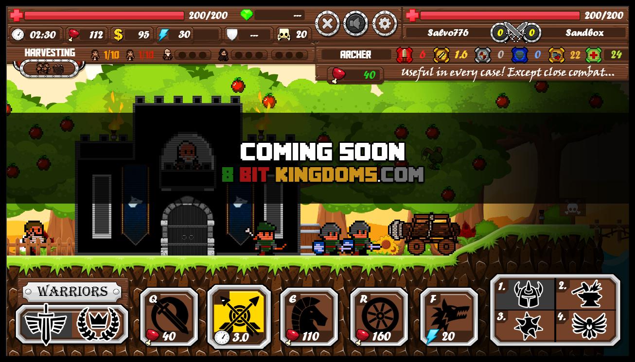 The New & Improved - 8 Bit Kingdoms news - Indie DB
