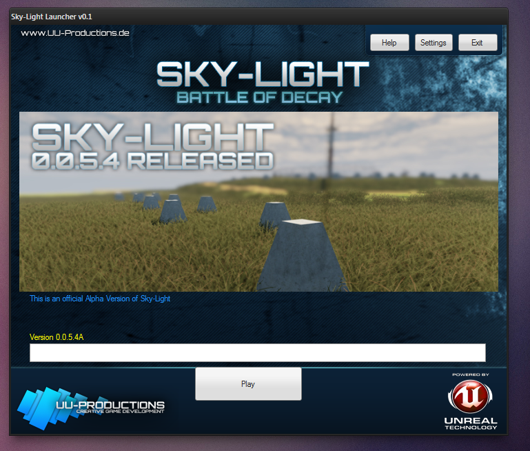 Game Launcher released news - Sky-Light - Mod DB