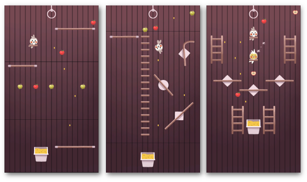 Screenshots of the game.