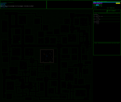 Cogmind Map View Expanded