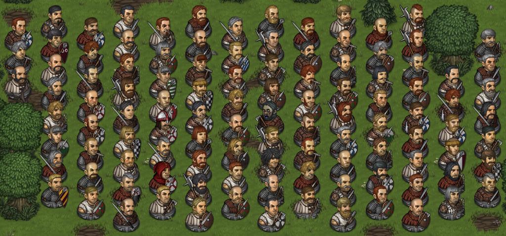 battle brohters character generation variety waldo