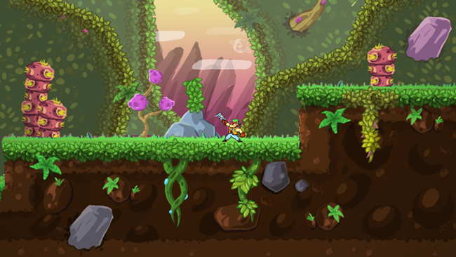 Greedy Guns level mockup 2