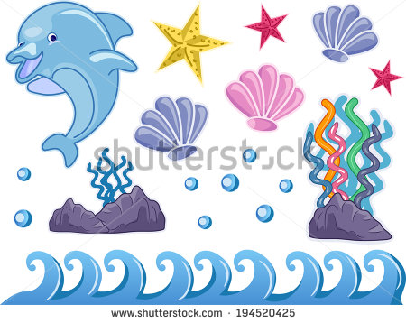 stock-vector-illustration-featuring-elements-commonly-associated-with-underwater-scenes-194520425