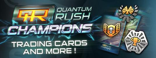Quantum Rush Champions - Trading Cards
