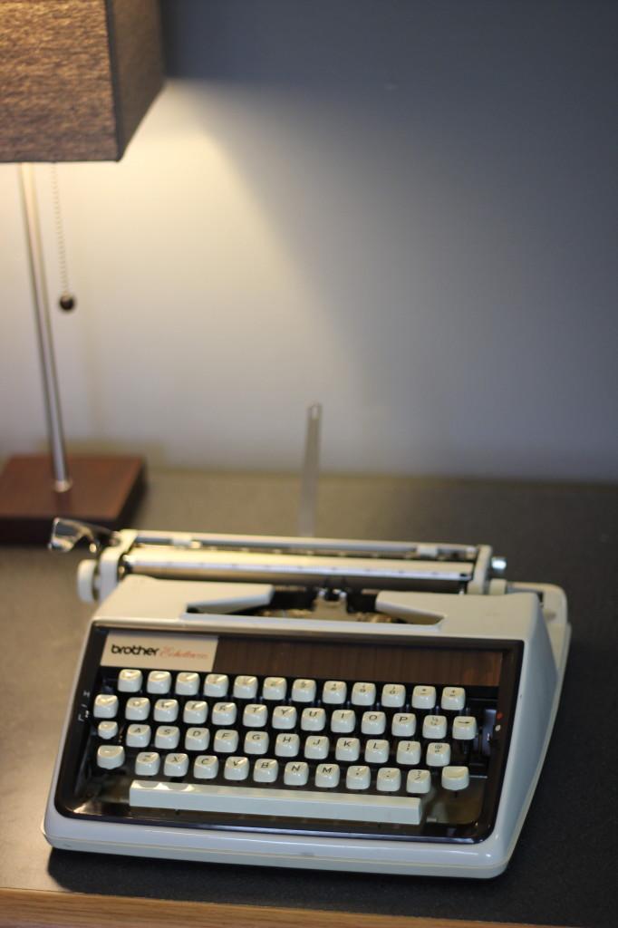 Brother Echelon 55 Portable Typewriter