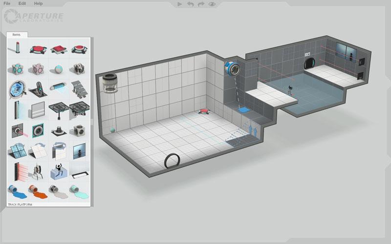 Portal 2 Puzzle Creator.