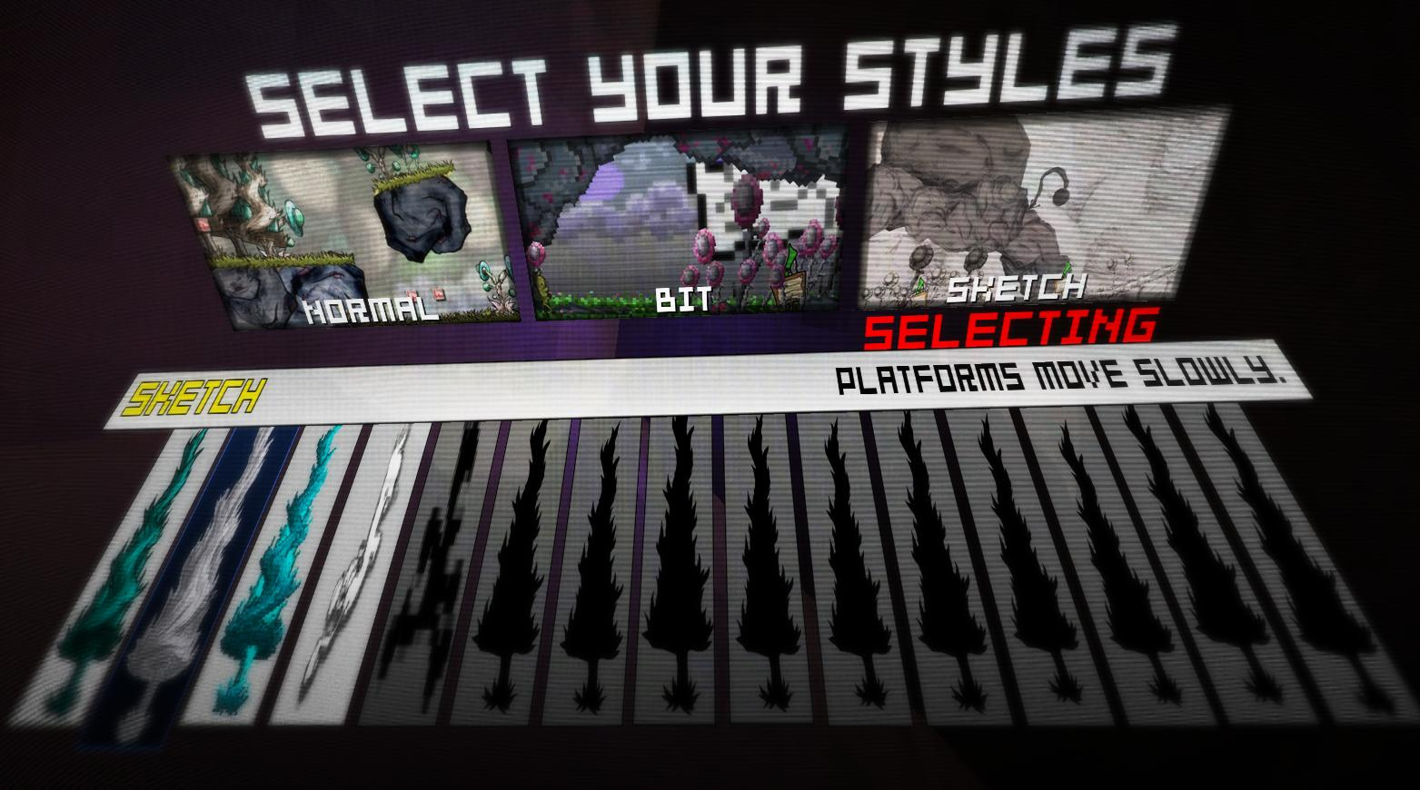 Select Your Styles!