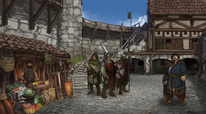 castle screen battle brothers tactical rpg