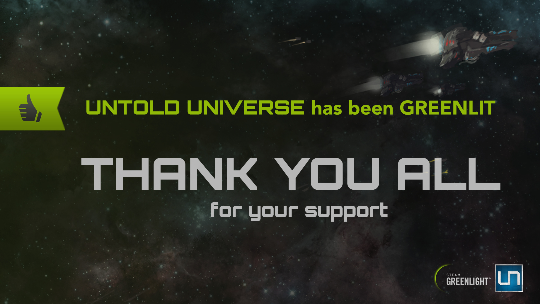 Untold Universe Greenlit - 08/01/15