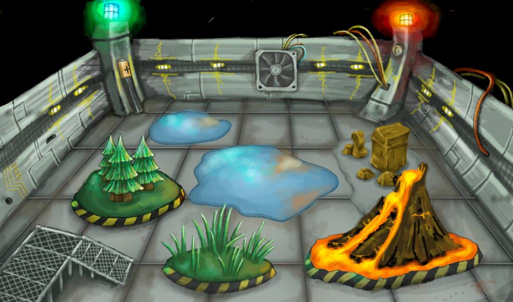 Battle Arena Electro Concept